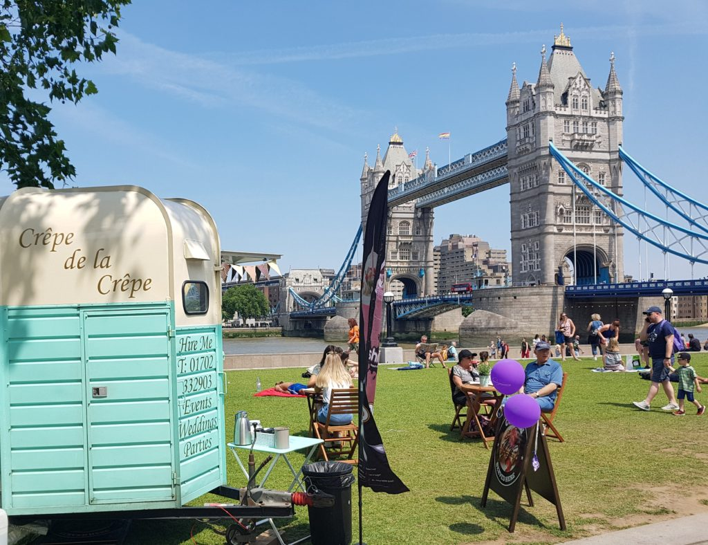Creperie at Tower Bridge